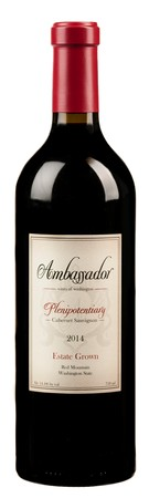 SOLD OUT! -2014 Estate Plenipotentiary Cabernet Sauvignon