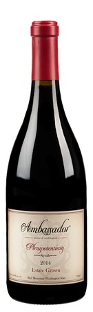 2014 Estate Plenipotentiary Syrah